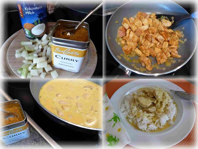 Ben Condito Gewürze Curry Ananas