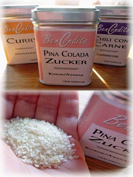 BenCondito Pina Colada Zucker