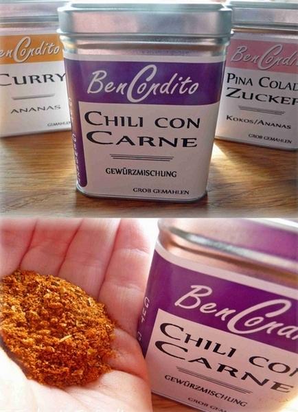BenCondito Gewürze Chili Con Carne