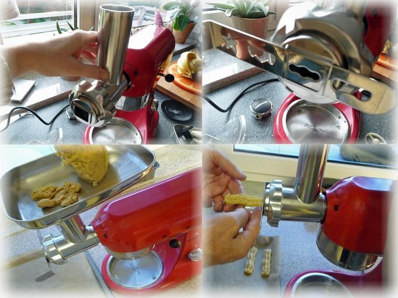 Medion Premium Küchenmaschine Spritzgebäck
