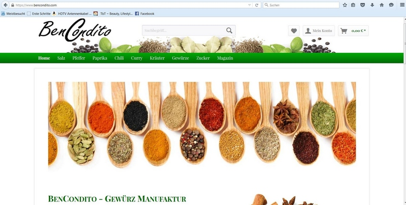 Homepage BenCondito